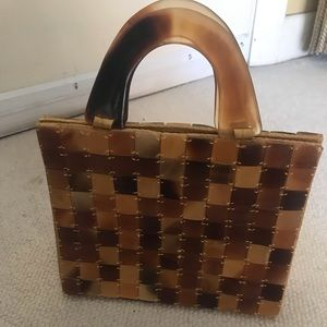 Handbags - UNIQUE TORTOISESHELL HANDBAG